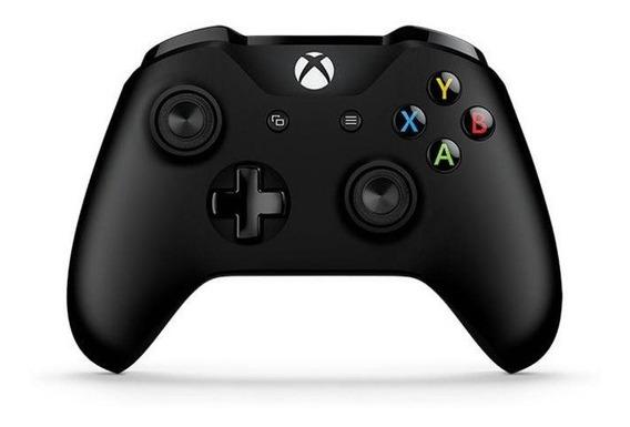 Controle Xbox One S Bluetooth Sem Fio Conector P2 Preto