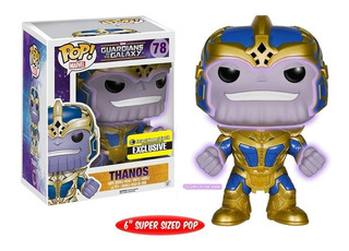 Funko Pop Marvel 78 Guardians Thanos Glow Exclusive Original