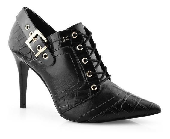 Ankle Boot Bico Fino Jorge Bischoff J40158167 - Cirandinha