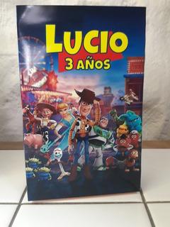 30 Bolsitas Cumpleaños Y 30 Libritos Colorear Toy Story