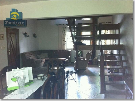 Casa Residencial À Venda, Campestre, Santo André. - Ca0185