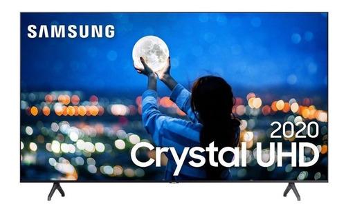 Imagem 1 de 4 de Smart Tv Led 65 Uhd 4k Samsung Lh65bethv Crystal Uhd Hdr