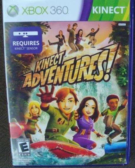 Game Xbox 360 Kinect Adventures - Original - Na Caixa.