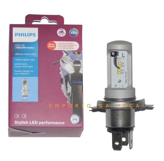 Led Philips Moto H4 Corrente Alternada Cg 125 150 Titan Fan