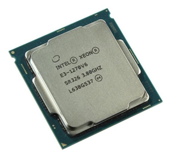 Processador Xeon Core E3 1270v6 Lga 1151 Intel Quad 3.80ghz