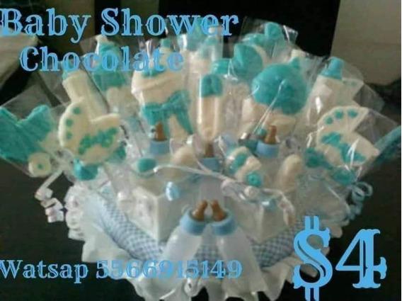 Baby Shower Paletas De Baby Shower Bautizo 50 Piezas