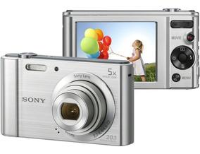 Maquina Digital Sony W800 5x Zoom Cyber Shot 20.1