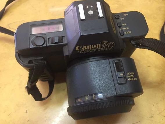 Câmera Antiga Canon T80