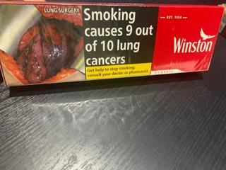 Cajetilla De Cigarrillos Winstonx20uds.