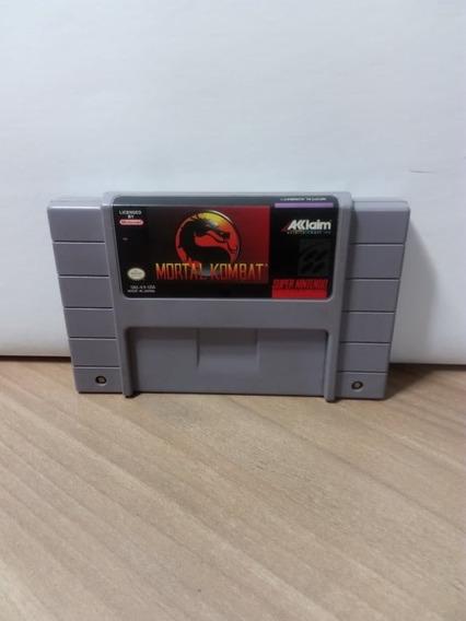 Mortal Kombat Snes Original Usado