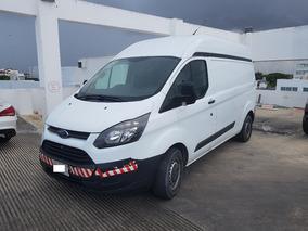 Ford Transit 2.2 Van Larga Techo Alto Aa Custom Mt 2015