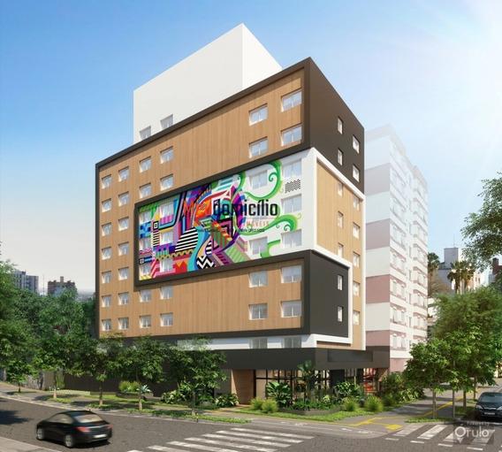 Apartamento A Venda No Bairro Cidade Baixa Em Porto Alegre - - 15498md-1