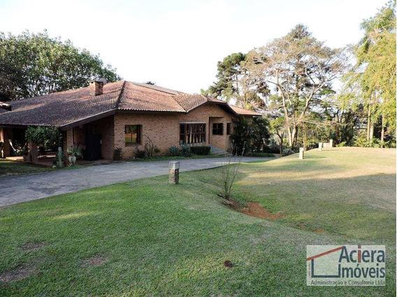 Miolo Da Granja-ótima Localização Casa Térrea Com Lareira, Amplos Jardins, Piscina E Gourmet. - Ca1826