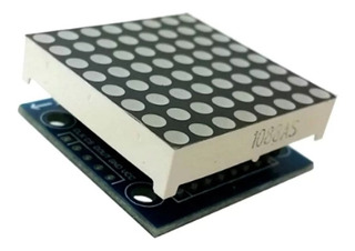 Modulo Display Led Matriz 64 Puntos 8x8 Max7219 Arduino