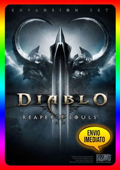 Diablo 3 Reaper Of Souls Pc - 100% Original (blizzard Key)
