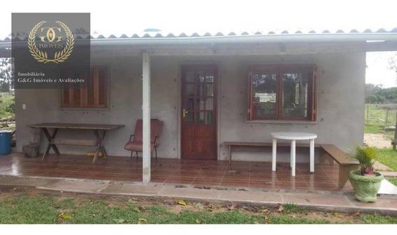 Chácara Com 2 Dormitórios À Venda, 600 M² Por R$ 159.000,00 - Águas Claras - Viamão/rs - Ch0027