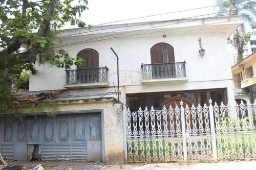 Imagem 1 de 3 de Casa  Com 4 Dormitório(s) Localizado(a) No Bairro Ponta Da Praia Em Santos / Santos  - 6500