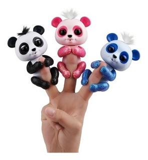 Fingerlings Panda Interactivo Dedos Original Piu Online