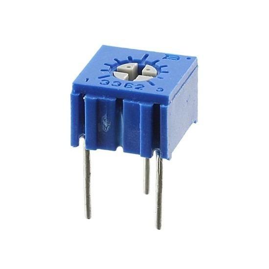 Kit 5 Pçs Potenciômetro Trimpot 10k 3362 Arduino Pic Arm