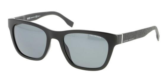 Lentes Gafas De Sol Hugo Boss Matte Black 53mm Suns