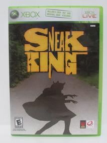 Sneak King - Game Xbox 360 Original Completo Mídia Física