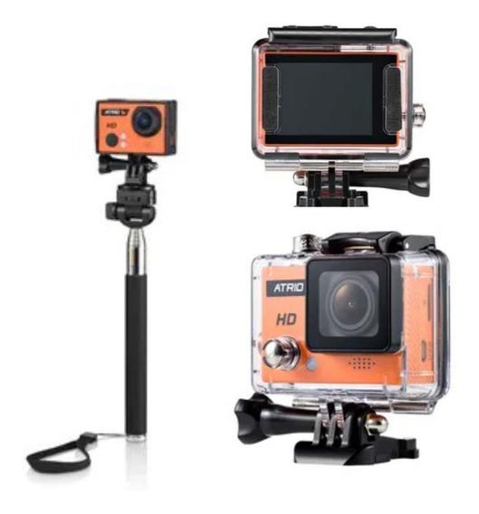 Câmera Ação Atrio Action Profissional Cam Hd 720p Fullsport