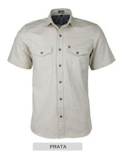 Camisa Masculina Estilo Militar 2 Bolso Amassa Não Lançament