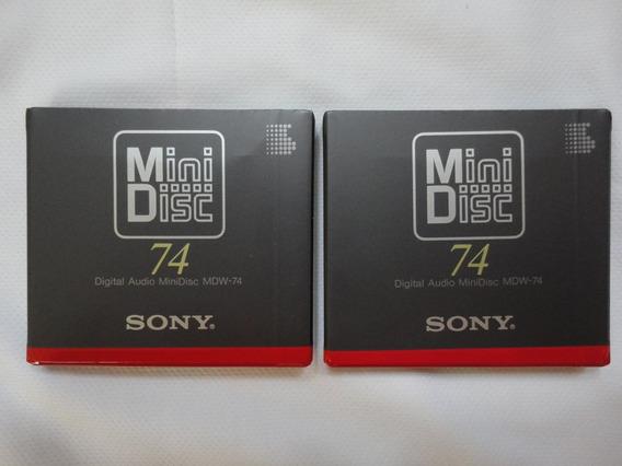 Fita Minidisc Sony Mdw -lacrada Na Embl.original-made In Jap