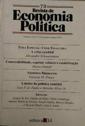 Revista De Economia Política Vol. 19 Nº1 Alexandre Schwarts