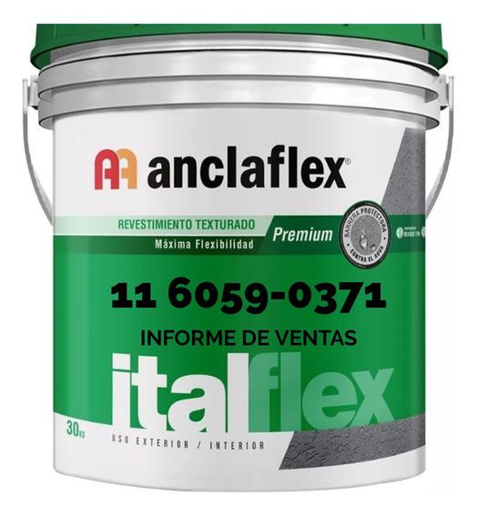 Revestimiento Plástico Texturado Anclaflex. Tarquini. Revear