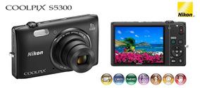 Câmera Nikon Coolpix S5300 Sem Riscos