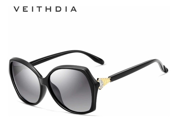 Óculos De Sol Original Veithdia Modelo Feminino!