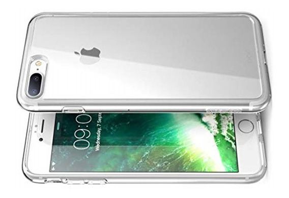 Funda Protectora iPhone 8 Plus 8+ 7+ Transparente Halo Clear