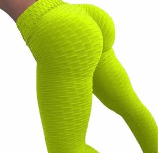 Legging Licra Malla Gym Fitness Crossfit Yoga Anticelulitis