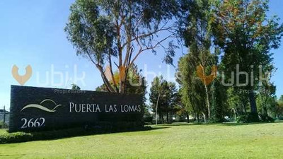 Coto Puerta Las Lomas - Terreno Colinda Con Barda Excelente Ubicacion