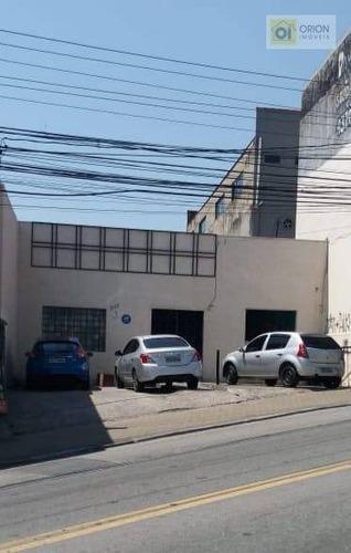 Salão, 224 M² - Venda Por R$ 1.650.000,00 Ou Aluguel Por R$ 7.000,00/mês - Vila Silviânia - Carapicuíba/sp - Sl0008