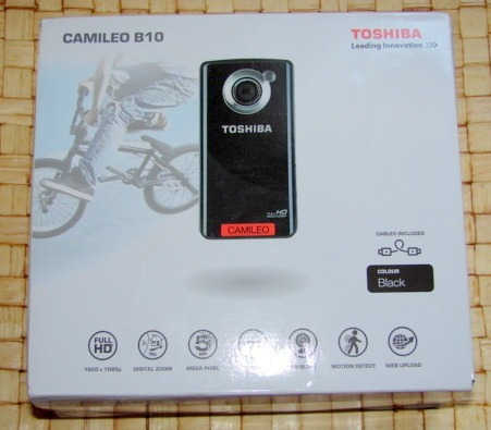 Camara Toshiba Camileo B10 (mar Del Plata)