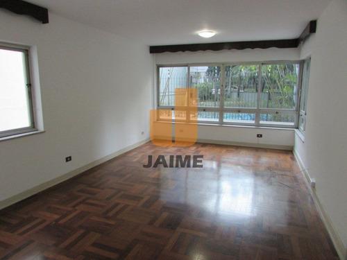 Apartamento Para Venda No Bairro Higienópolis Em São Paulo - Cod: Ja3107 - Ja3107