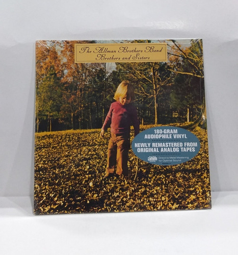 The Allman Brothers Band - Brothers And Sisters  Lp Vinilo