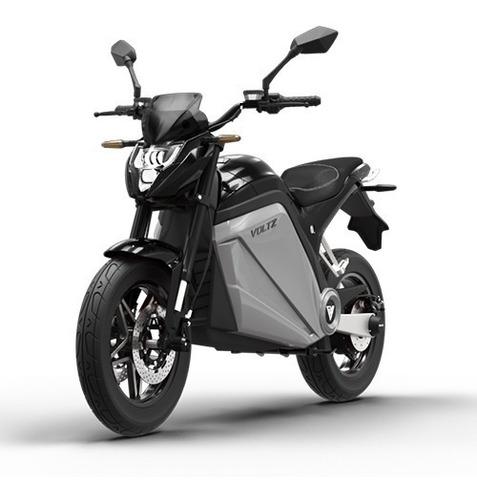Moto Elétrica Evs Voltz Motors Preta/prata - Uma Bateria