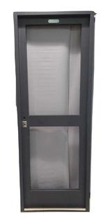 Puerta Doble Chapa Vidriada 80 X 200 Patio / Cocina