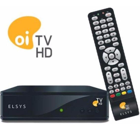 Receptor Digital Oi Tv Livre Hd Elsys - Etrs35