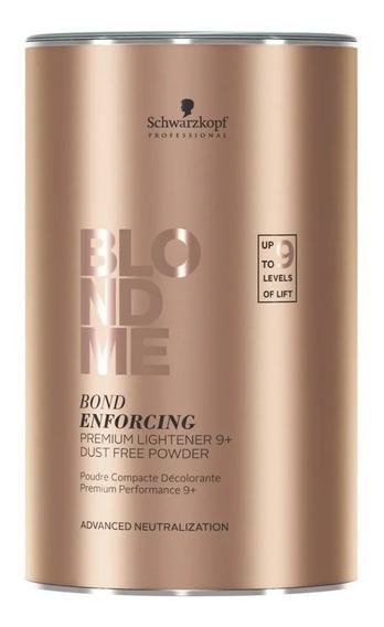 Polvo Decolorante Blondme Premium Lift 9+ X 450g Schwarzkopf