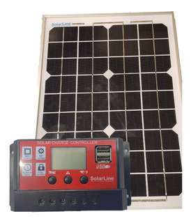 Kit Solar Para Boyeros Y Electrificadores - Panel 10wp + R10