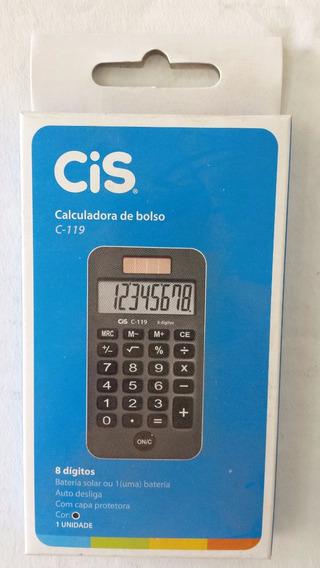 Calculadora De Bolso C-119/br/pr/rs Cis Sertic -c/1 Unidade.