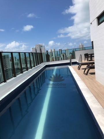Flat Em Boa Viagem, Recife/pe De 35m² 1 Quartos À Venda Por R$ 275.000,00 - Fl356902