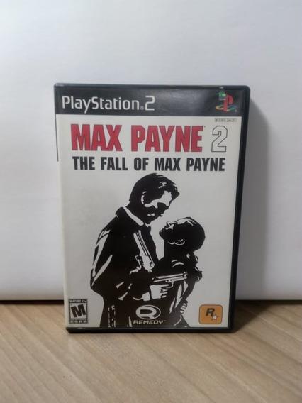 Max Payne 2 The Fall Of Max Payne Ps2 Original Usado
