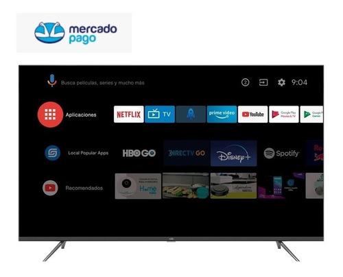 Imagen 1 de 9 de Tv Kalley 50  Pulgadas 127 Cm Atv50uhd 4k Led Smart- Android