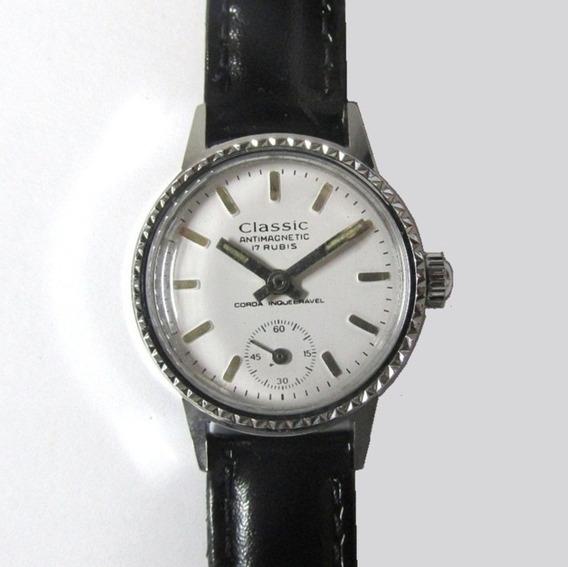 Relógio Pulso Classíc Swiss Made, Novo, Feminino Clássico