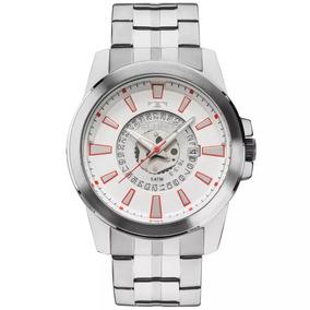Relógio Technos Masculino Prateado Original 2117lah/1b